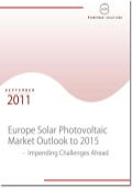 Europe Solar Photovoltaic Market Outlook to 2015 - Impending Challenges Ahead