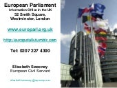 European Parliament Presentation (1...