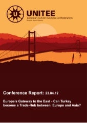 Europe's Gateway to the East - Conf...