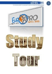 EuroXpro 2012 Official study tour b...