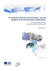 Analysis of social computing applic...