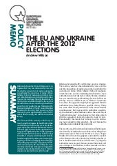 EU and Ukraine after elections (rec...