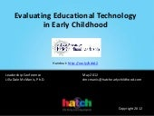 Evaluating Educational Technology i...