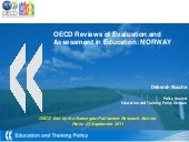 Evaluation and Assessment Norway - ...