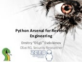 Evdokimov   python arsenal for re