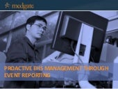 Proactive EHS Management Through Event Reporting