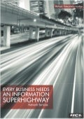 HCLT Brochure: Every Business Needs An Information Super Highway--Network Services (Telecommunications Vertical)