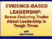 Evidence Based Leadership