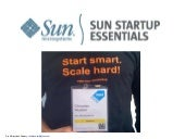 Sun Startup Essentials Pitch at EVM...