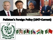 Evolution of Pakistan's Foreign Pol...