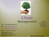 E waste recyclers india