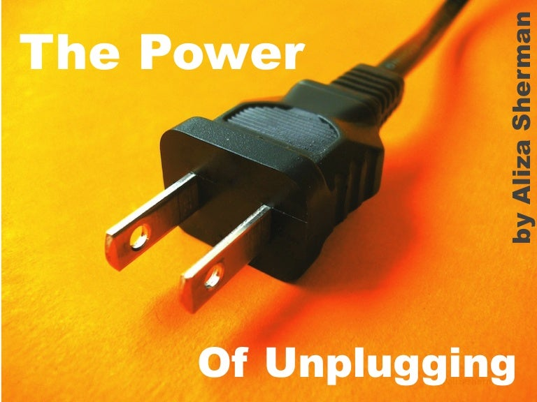 The Power of Unplugging: For Your Business, Your Life, Your Sanity