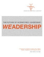 Weadership: An Introduction