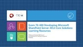 Exam 70-488 Developing Microsoft Sh...