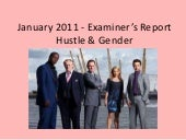 Examiner's report   january 2011