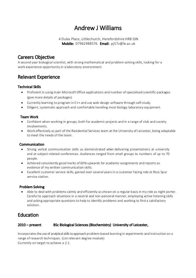 how to write a cv examples uk web based resume builder - Skills Based Resume Builder