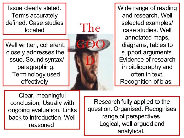 good example of essay