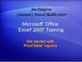 Excel 2007  Get Started With  Pivot...