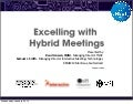 Excelling with hybrid meetings tnoc+imt for #emec13 #MPI