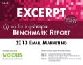 2013 Email Marketing Benchmark Report | Free Excerpt
