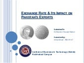 Exchange rate & its impact on pakis...