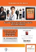 Executive Course for Corporate Secretaries and Personal Assistants
