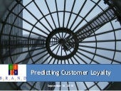Predicting Customer and Brand Loyal...
