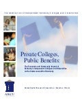 Private Colleges, Public Benefits - 2006 AIKCU Econ. Impact Study (Exec. Summary)