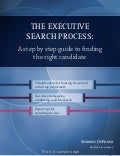 Executive search process ebook sample pages
