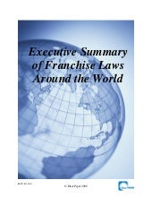 Executive summary franchise_laws_world