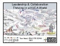 Leadership & Collaboration - Thriving in a VUCA World