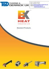 Exheat Flameproof Fan Heaters - Haz...