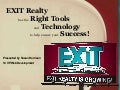 Exit Realty's technology for its agents