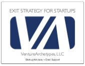 Startup Exit Strategy Thought Piece...