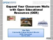 Expand your classroom walls with OER