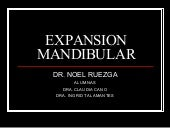 Expansion Mandibular