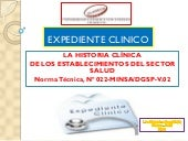 Expediente clinico kardex y notas d...