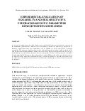 Experimental evaluation of scalability and reliability of a feedback based upc-parameters renegotiation mechanism