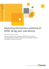 Exploiting the Business Potential o...