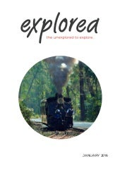 Explorea - The Unexplored to Explore