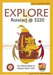 Explore rotaract   3220 issue 1 com...