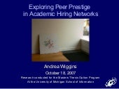 Exploring Peer Prestige in Academic...