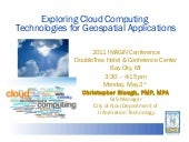 Exploring Cloud Computing Technolog...
