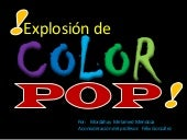 Explosión de color andy warhol