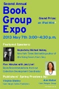Book Group Expo Poster: 2013