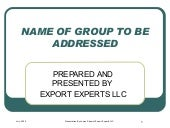 Export Compliance & Controls Traini...
