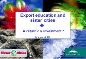 Export Education & Sister Cities - ...