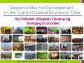 Opportunities For Development In The Current Global Economic Crisis
