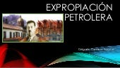 Expropiación petrolera point