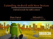 Extending Android with New Devices